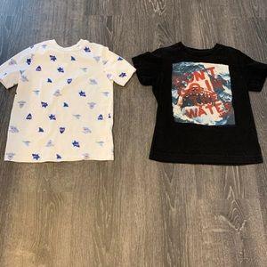Boys Shark shirts